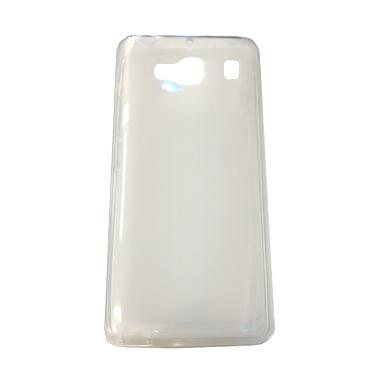 QCF Softcase Casing for Samsung Galaxy E5 E500 - Transparan