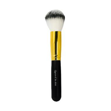 Queen Of The Shine Powder Blush On 010 Brush - Gold