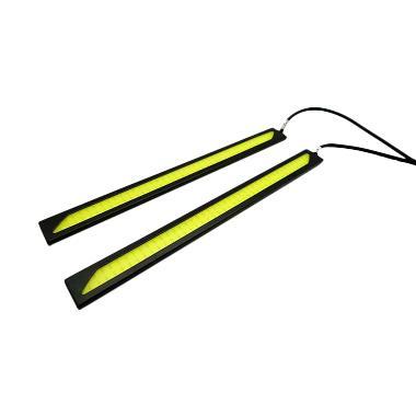 R4 LED DRL Plasma Lampu Mobil - Cahaya Putih [17 cm]