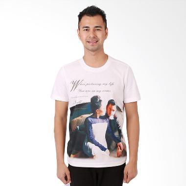RA Jeans Mens Fans Tee FT SS 10 07 Putih Kaos Pria