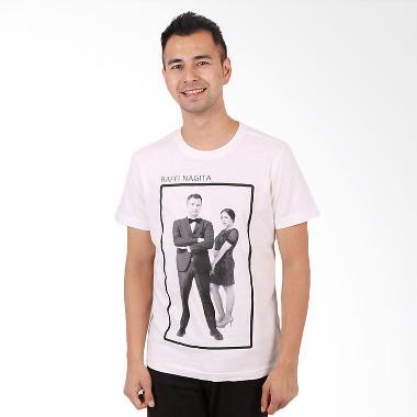 RA Jeans Mens Fans Tee FT SS 10 08A Putih Kaos Pria