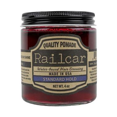 REVIEW Railcar Standard Hold Pomade [4oz] Terbagus