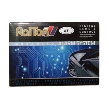 Raiton W81 Universal Alarm Remote Alarm Mobil