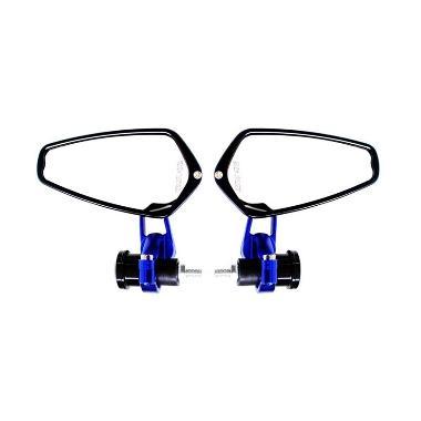 harga Raja Motor Aksesoris Motor Sacrlet Spion Jalu CNC 2863 - Biru [MB048-Biru] Blue Blibli.com