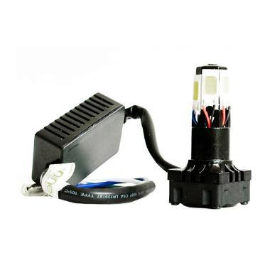 Lampu Motor LED 6 Sisi Eco9 - Putih