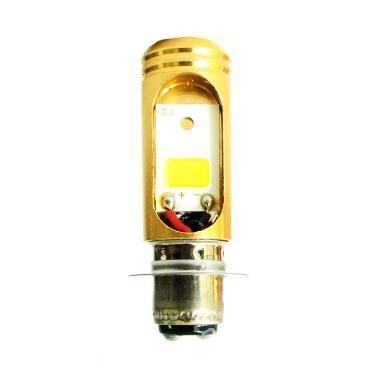 Raja Motor DOH8108 Golden Tiger LED ... D (DC) Lampu Depan - Biru
