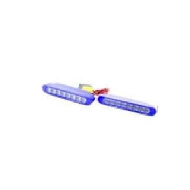 Raja Motor LAV1047 2520 Model Pipih Lampu Strobo - Biru