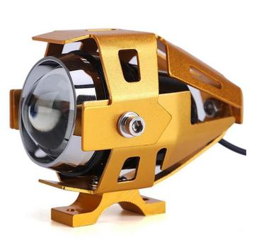 Raja Motor Variasi LED Projector Tr ... epan Motor [LAV9001-Gold]