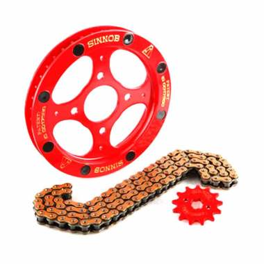 harga Sinnob Paket Gir Yamaha Jupiter Z Premium - Merah - Aksesoris Motor - Variasi Motor - PROMO ONLINE Blibli.com