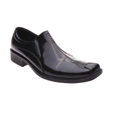 Handymen F 04 Black Sepatu Formal P ...