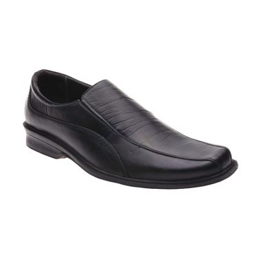 Handymen LCP 08 Black Sepatu Formal ...