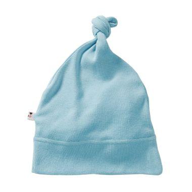 Babysoy Unisex O Soy Knot Hat Sky T ...