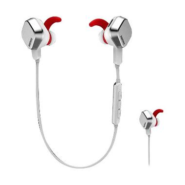 Remax RM-S2 Bluetooth Headset for iOS and Android - Silver