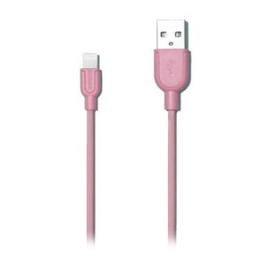 Remax Souffle Lightning Pink Data Cable for iPhone 5/5S/6/6 Plus