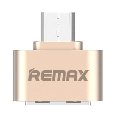 Remax USB OTG & Micro USB 2.0 - Gold