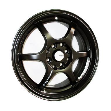 Replika Advan RGD Black Velg Mobil [15 Inch]