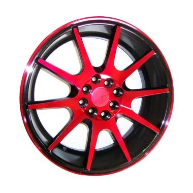 Replika Vossen VFS1 Black Red [17 Inch]