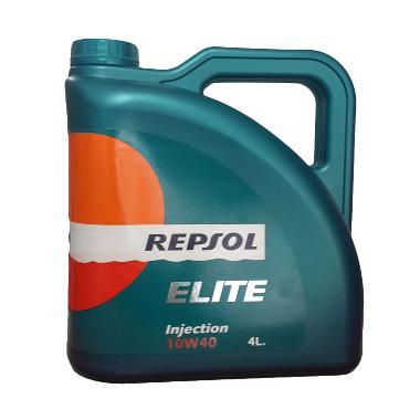 Jual Repsol Elite Injection SAE 10W 40 Pelumas Mobil 4