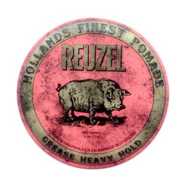 Reuzel Grease Heavy Hold Pomade - Pink [4 oz/113 g]