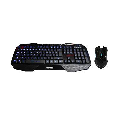 REXUS K1 Gaming Keyboard + Free REXUS Rx110 Wireless Gaming Mouse
