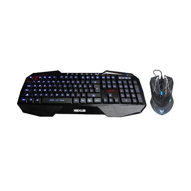 Rexus K1 Gaming Keyboard and Rexus G5 Gaming Mouse - Hitam