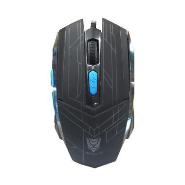 REXUS RXM-G6 Mouse Gaming USB - Hitam [2400 dpi]