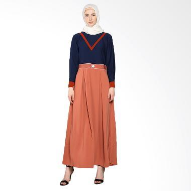 Rhku By Sopia Atas Kaos Gamis - Orange