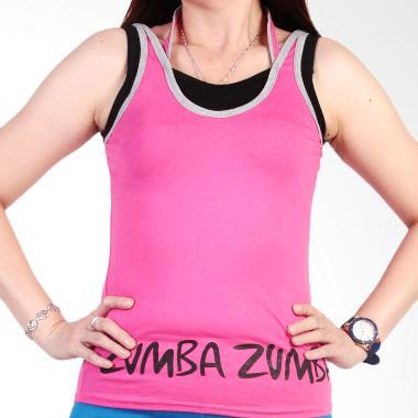 Ronaco Zumba T00B Baju Senam Wanita - Pink