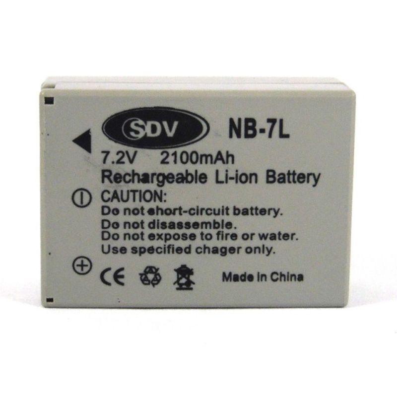 SDV NB-7L Baterai Kamera untuk Cano ...