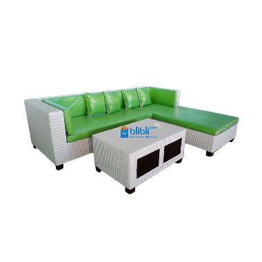 Rotan Kita KTG33 Letter L Set Sofa