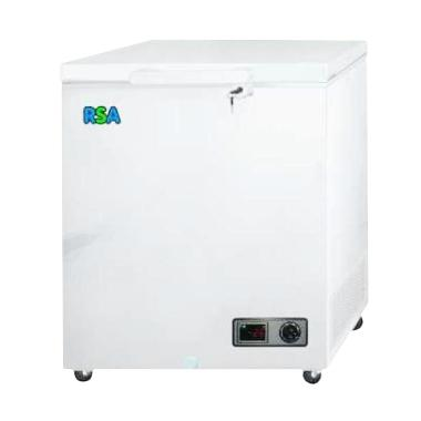 RSA Freezer Box CF100 Putih Chest 100L Jabodetabek