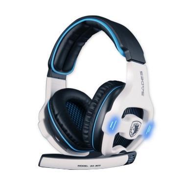 Sades SA-903 Putih Headset Gaming