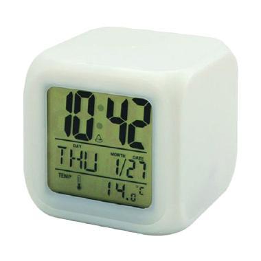 Sagadiju Moodie Unik Jam Alarm [7 Warna LED]