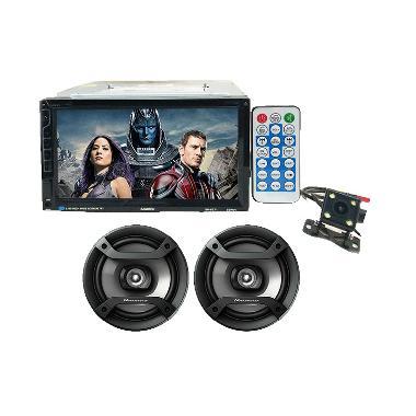 Samisen Double Din Head Unit Paket Audio Mobil [6.95 Inch]