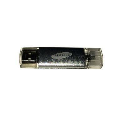 Flashdisk Samsung 2in1 [16 GB] - Silver