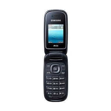 Samsung Caramel E-1272 Handphone - Black