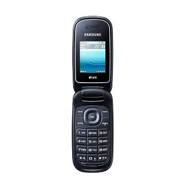 Samsung Caramel E1272 Handphone - Hitam [Dual SIM]