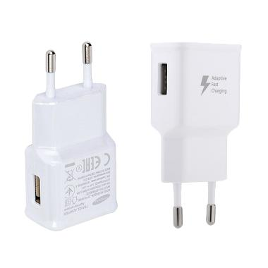 Samsung Fast Charging Adapter Charger for Samsung Galaxy -[2.0A] White
