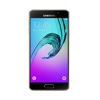 Samsung Galaxy A3 SM-A310 Smartphone - Gold [2016 New Edition]