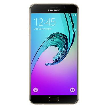 Samsung Galaxy A7 SM-A710 Smartphone - Gold [16GB/ 3GB/ 2016 Edition]