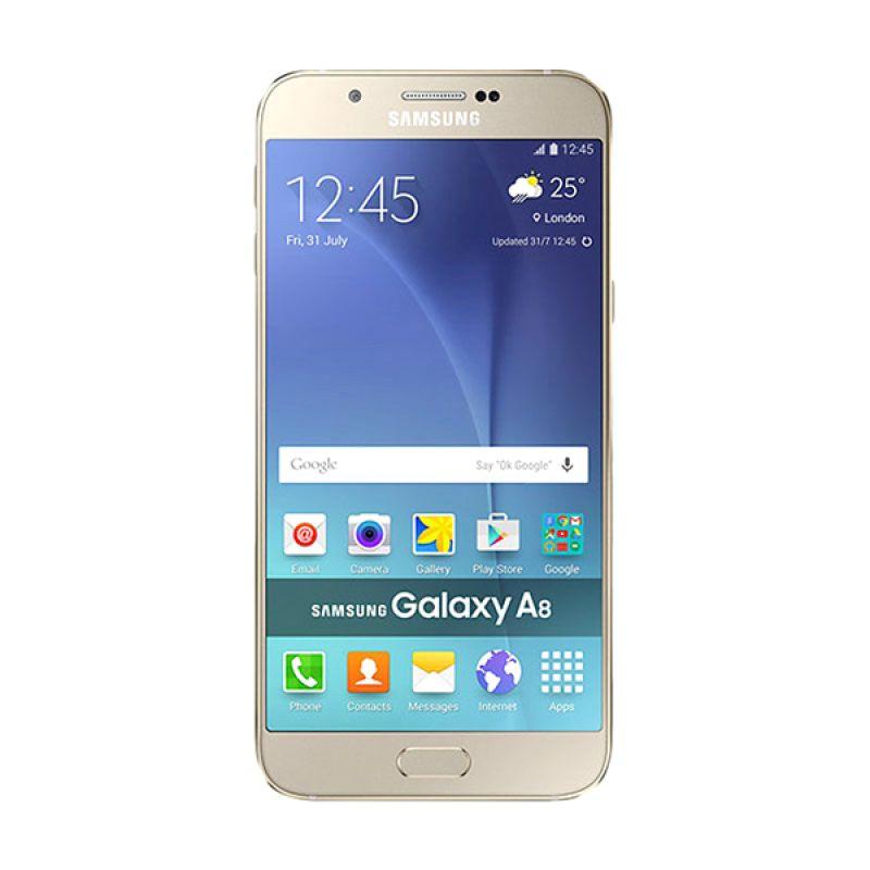 Samsung Galaxy A8 SM-A800 Smartphone - Gold