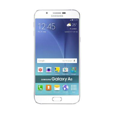 harga Samsung Galaxy A8 SM-A800 Smartphone - White Blibli.com