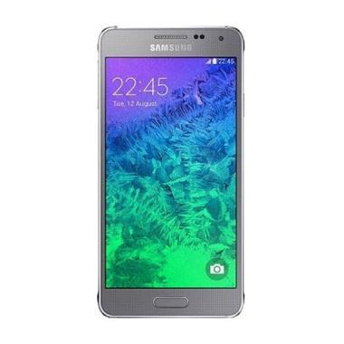 Samsung Galaxy Alpha G850F Smartphone - Silver