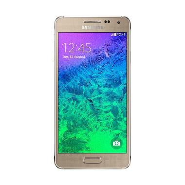 Samsung Galaxy Alpha Smartphone - Gold [32GB/ 2GB]