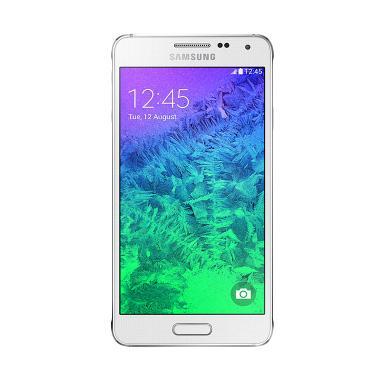 Samsung Galaxy Alpha Smartphone - Dazzling White [32 GB]