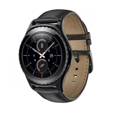 Samsung Galaxy Gear S2 Classic Leather Smartwatch - Black