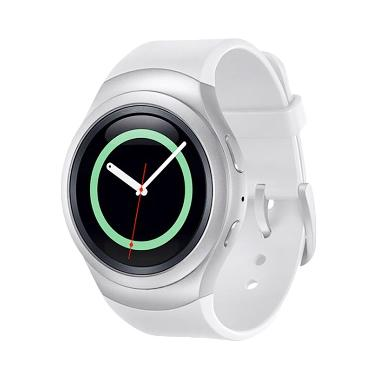 Samsung Galaxy Gear S2 Rubber Diamond Silver Smartwatch [Bluetooth]