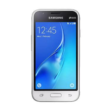 Samsung Galaxy J1 2016 Smartphone - Putih [8 GB]