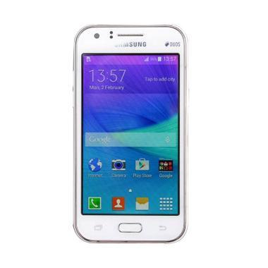 Samsung Galaxy J1 Ace Smartphone - White [Garansi Resmi]