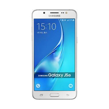 Samsung Galaxy J5 J510 Smartphone - White [2016 New Edition]